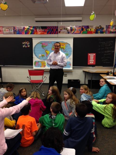 Hero of the Day: George Petmezas, Principal Mill Creek Elementary